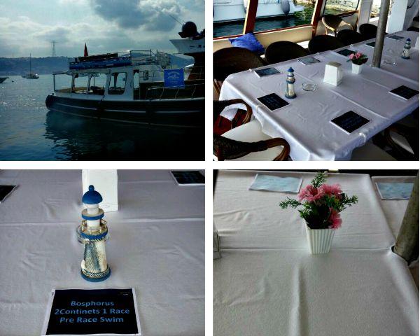 Eğitim Öncesi Tekneden Görüntüler