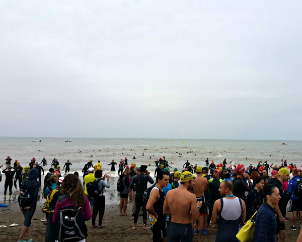 Before Swim Starts